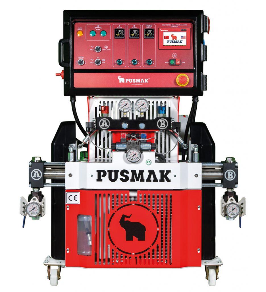 машина для напыления ппу и полимочевины