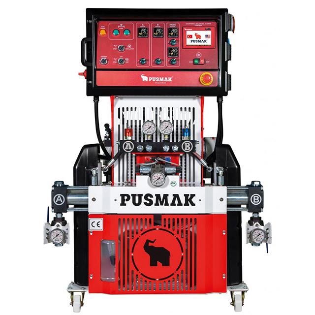 Машина для напыления ППУ и Полимочевины Pusmak