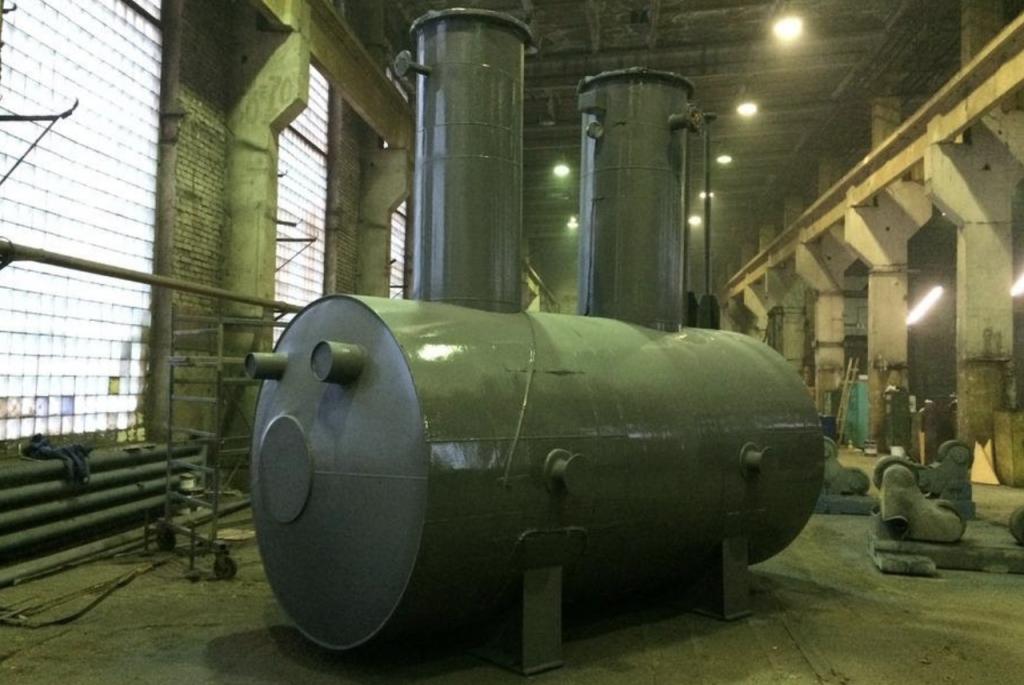 Антикоррозионная обработка резервуаров, емкостей